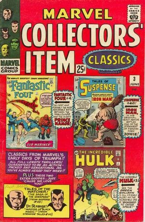 Marvel Collectors' Item Classics Vol 1 3