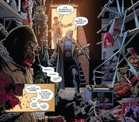 Mercs for Money (Earth-TRN664), Mercedes Knight (Earth-TRN664), and Nathan Summers (Earth-TRN664) from Deadpool Kills the Marvel Universe Again Vol 1 3 001