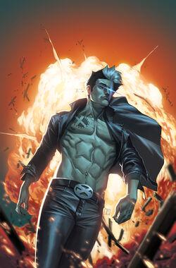 New Mutants Vol 3 25 Molina Variant Textless