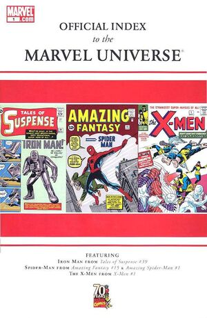 Official Index to the Marvel Universe Vol 1 1