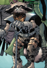 Rocket Raccoon (Earth-21923) from Old Man Quill Vol 1 1 001