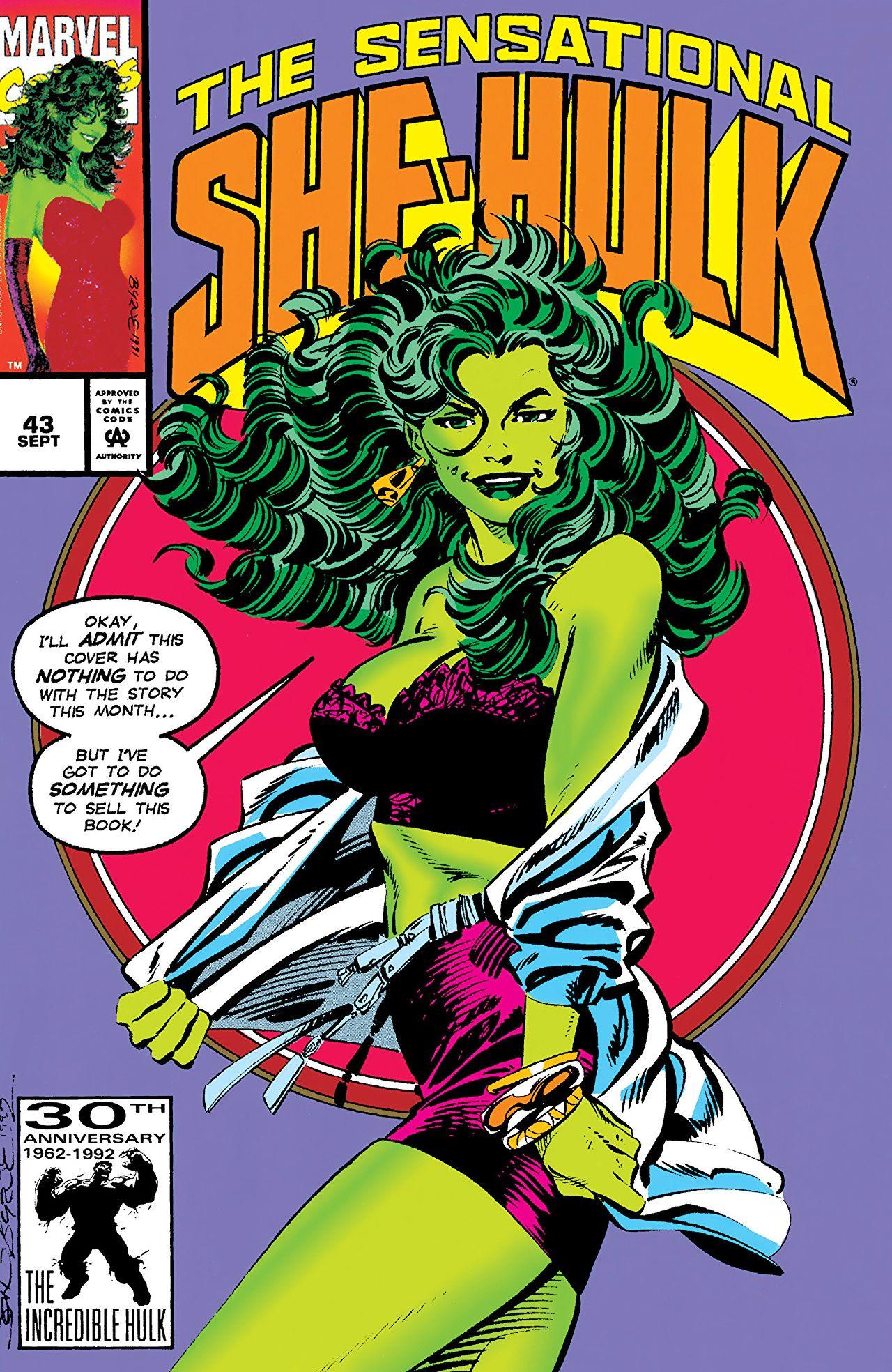 Sensational She-Hulk Vol 1 43