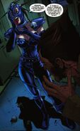 Shadowstalker (Earth-616) and James Howlett (Earth-616) from Wolverine Vol 4 10 0001