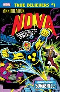 True Believers Annihilation - Nova Vol 1 1