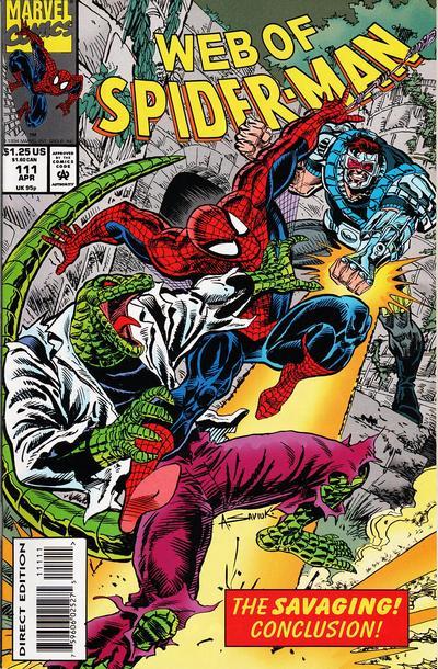 Web of Spider-Man Vol 1 111