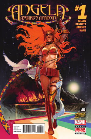 Angela Asgard's Assassin Vol 1 1