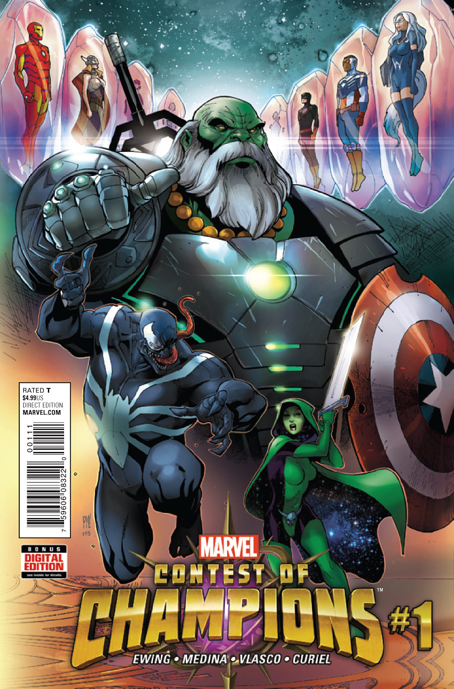 marvel comics 2015 list