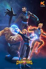 Fantastic Four (Earth-TRN517) from Marvel Contest of Champions 001