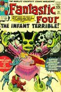 Fantastic Four Vol 1 24 Vintage
