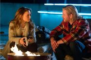 Jane Foster (Earth-199999) and Thor Odinson (Earth-199999) from Thor (film) 0003