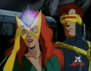 Jean Grey (Earth-92131) and Scott Summer (Earth-92131) from X-Men The Animated Series Season 3 14 001