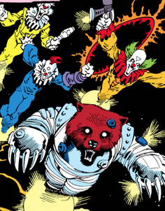 File:Killer Clowns (Earth-616) from Rocket Raccoon Vol 1 1 001.png