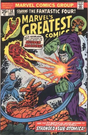 Marvel's Greatest Comics Vol 1 58