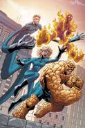 Marvel Age Fantastic Four Vol 1 4 Textless