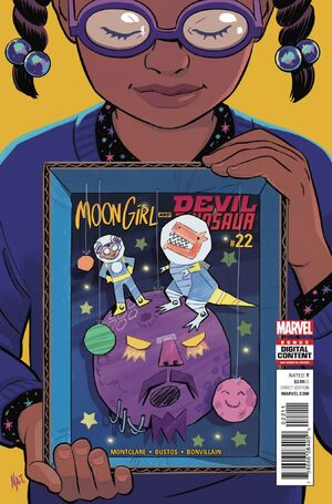 Moon Girl and Devil Dinosaur Vol 1 22
