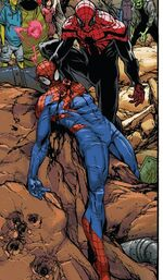 Otto Octavius (Earth-616) and Peter Parker (Earth-58163) from Superior Spider-Man Vol 1 32 001