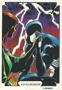 Peter Parker and Mary Jane Watson (Earth-616) from Mike Zeck (Trading Cards) 0001