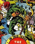 Red Skull (1940s Impostor) (Earth-616) from Captain America Comics Vol 1 61 Cover
