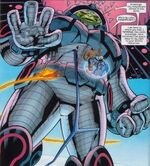 Terminus (Destroyer) (Earth-20051) and Fantastic Four (Earth-20051) from Marvel Adventures Fantastic Four Vol 1 15 0001