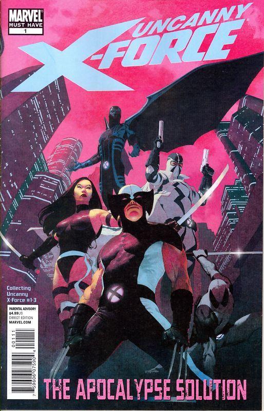Uncanny X-Force Apocalypse Solution Vol 1 1