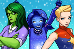 A-Force (Earth-TRN562) from Marvel Avengers Academy 001