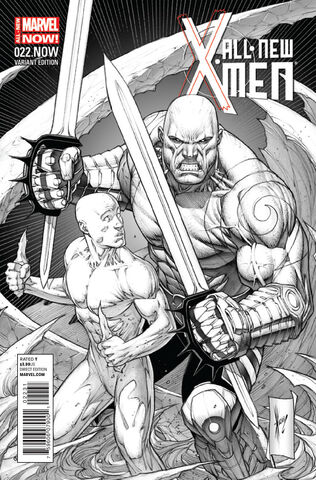 File:All-New X-Men Vol 1 22.NOW Keown Sketch Variant Textless.jpg