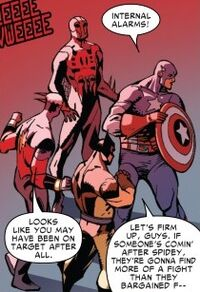 Avengers (Earth-98120) from Spider-Man 2099 Vol 2 5 0001