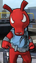 Benjamin Reilly (Scarlet Spider-Ham) (Earth-TRN461) from Spider-Man Unlimited (video game) 001