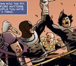 Bullseye (Lester) (Earth-11080) from Marvel Universe Vs. The Avengers Vol 1 1 001