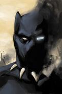 Civil War II Vol 1 5 Black Panther Variant Textless