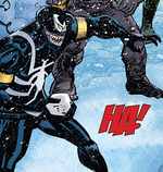 Edward Brock (Earth-14702) and Venom (Symbiote) (Earth-14702) from Amazing Spider-Man Vol 1 700.2 001