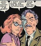 Elaine Grey and John Grey (Earth-616) from Uncanny X-Men Vol 1 240 0001