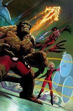 Fantastic Four Vol 5 1 Opeña Variant Textless