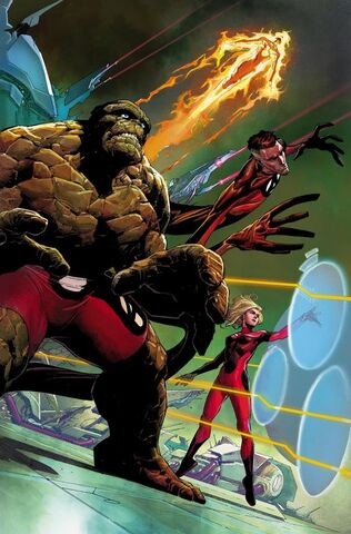 File:Fantastic Four Vol 5 1 Opeña Variant Textless.jpg