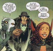 Ghost (Earth-616), Calvin Zabo (Earth-616) and Satana Hellstrom (Earth-616) from Dark Avengers Vol 1 176 001