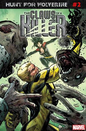 Hunt for Wolverine Claws of a Killer Vol 1 2