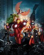 Marvel's Avengers Assemble Poster 001