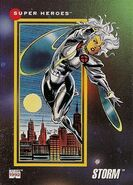 Ororo Munroe (Earth-616) from Marvel Universe Cards Series III 0001
