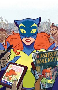 Patsy Walker, A.K.A. Hellcat! Vol 1 1 Textless