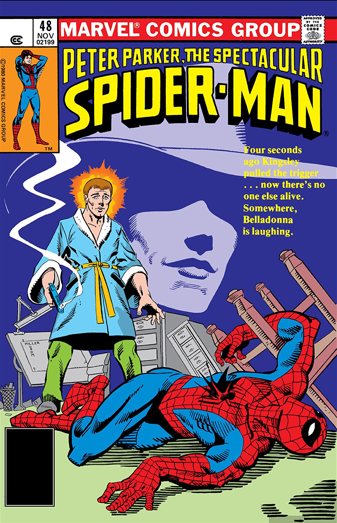 Peter Parker, The Spectacular Spider-Man Vol 1 48