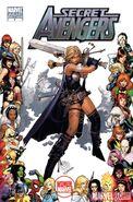 Secret Avengers Vol 1 4 Women of Marvel Variant