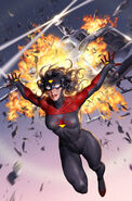 Spider-Woman Vol 7 1 New Costume Cover Textless