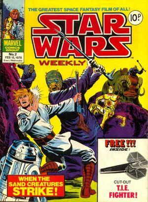 Star Wars Weekly (UK) Vol 1 2