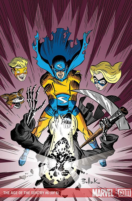 The Age of the Sentry Vol 1 6 Solicit.jpg