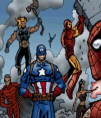 Ultimates (Earth-TRN131) from Spider-Man Battle for New York 001