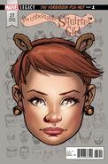Unbeatable Squirrel Girl Vol 2 27 Legacy Headshot Variant
