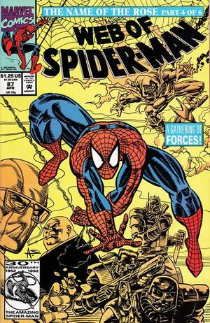 Web of Spider-Man Vol 1 87