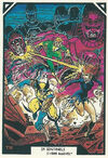 X-Men and Sentinels (Earth-616) from Arthur Adams Trading Card Set 0001