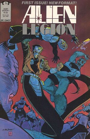 Alien Legion Vol 2 1