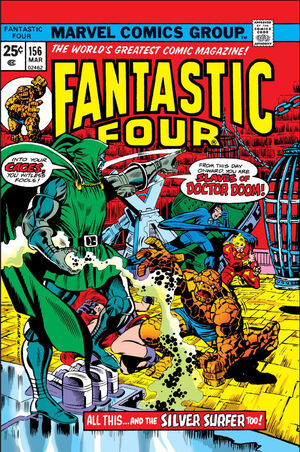 Fantastic Four Vol 1 156